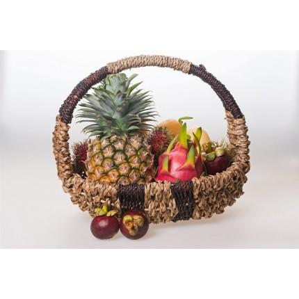 Подарочная корзина экзотических фруктов №1