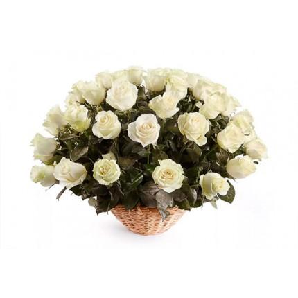 Подарочная корзина с цветами Сны любви