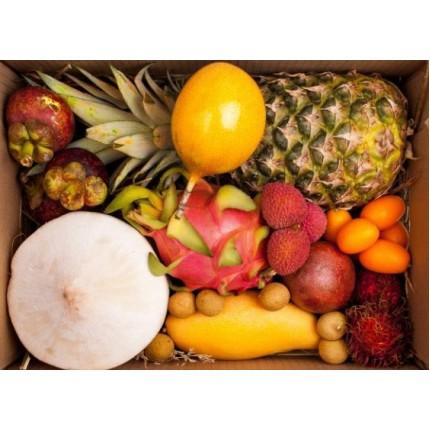 Коробка с фруктами-Экзотика