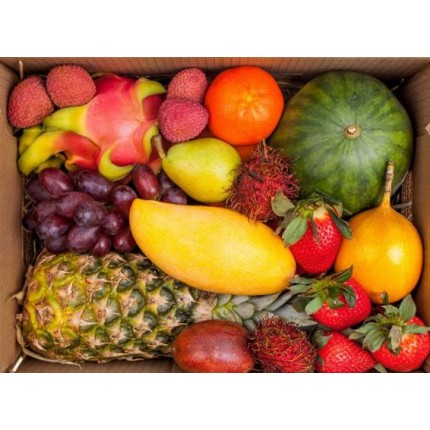 Коробка с фруктами - Тропики